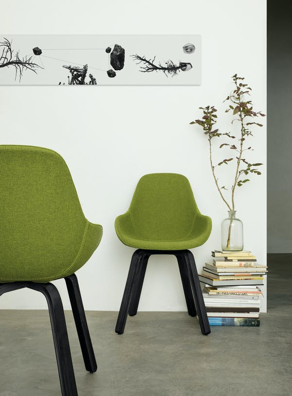 Kubikoff Chair U, Dimple Shell Tailored. Design by Sander Mulder for Kubikoff.