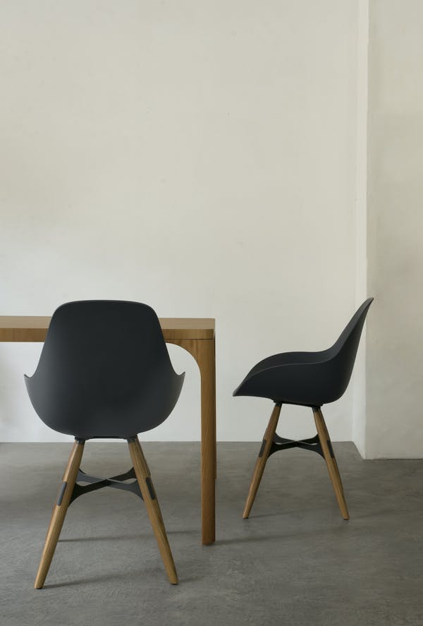 Kubikoff Chair ZigZag, Dimple Shell Closed. Design by Sander Mulder for Kubikoff.