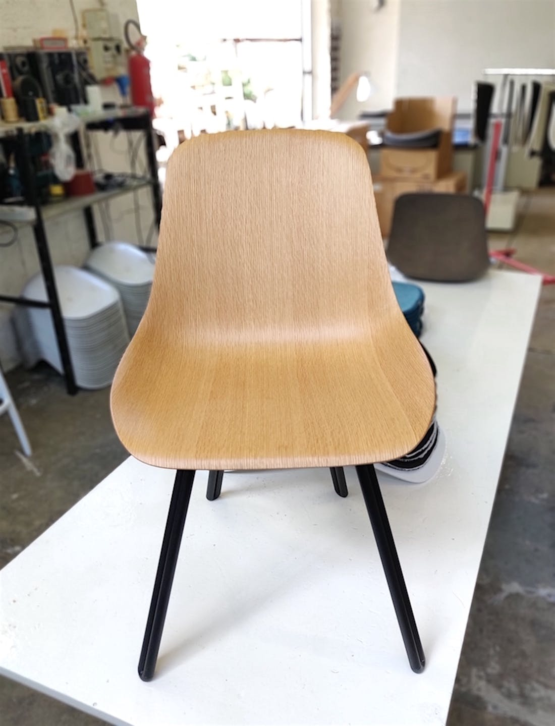 W9 Wooden Side Chair by Kubikoff, Kubikoff W9 Chair, Kubikoff Chair W9, 3D Veneer technology Chair