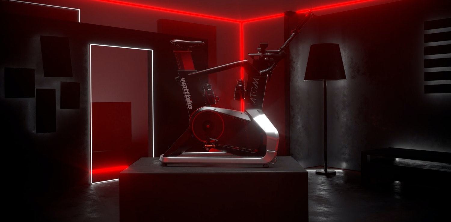 Still image from Wattbike Atom animation campaign