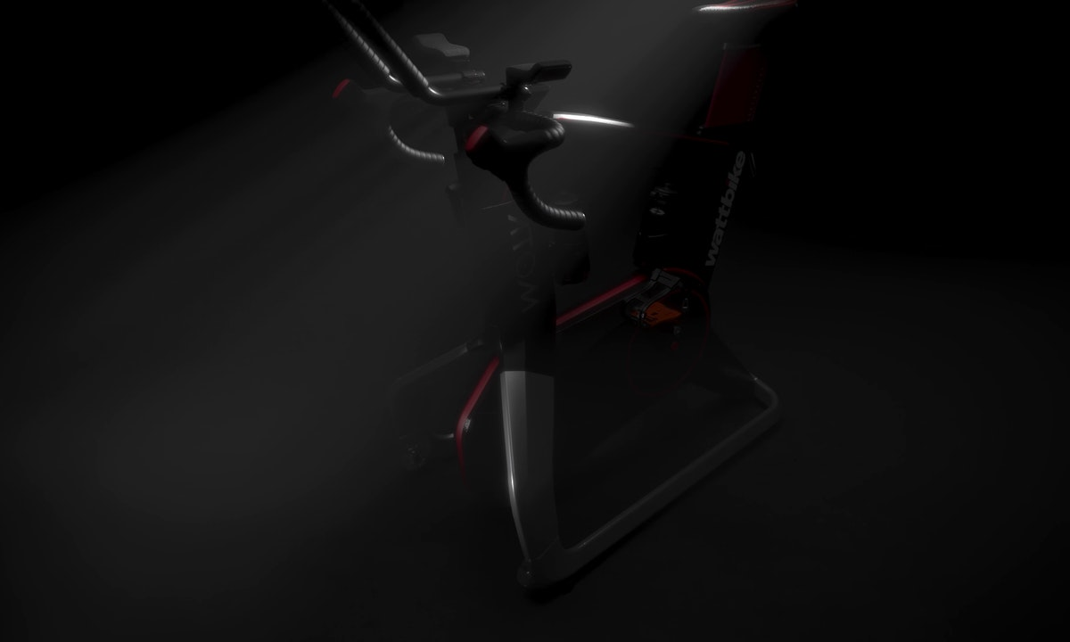 Still image from 3d animation video for Wattbike
