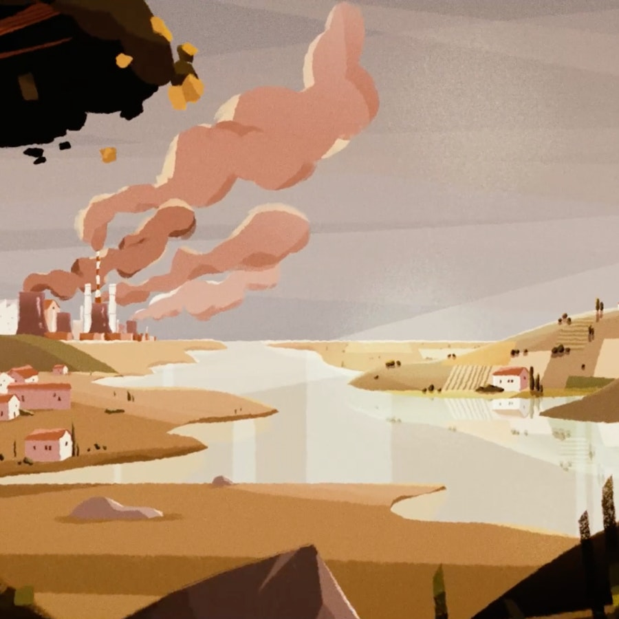 Still from European Commision Climate Change Animation - 05