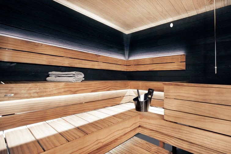 Harvia Block sauna benches