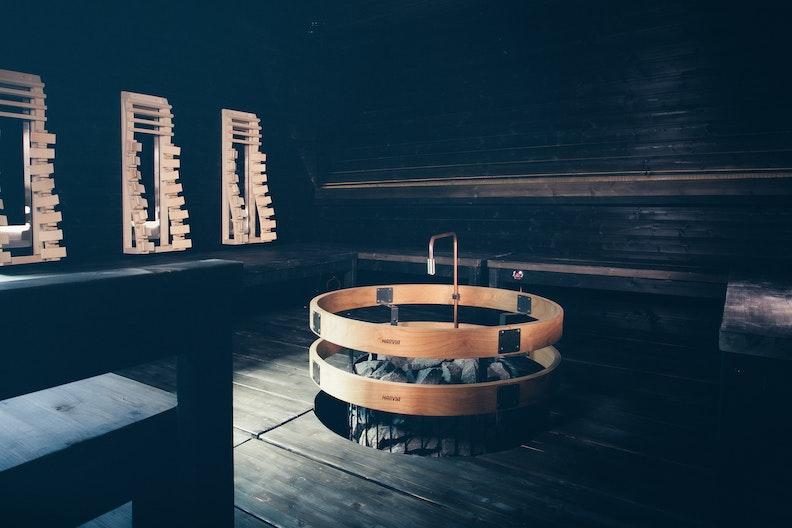 Harvia Solide hybrid sauna