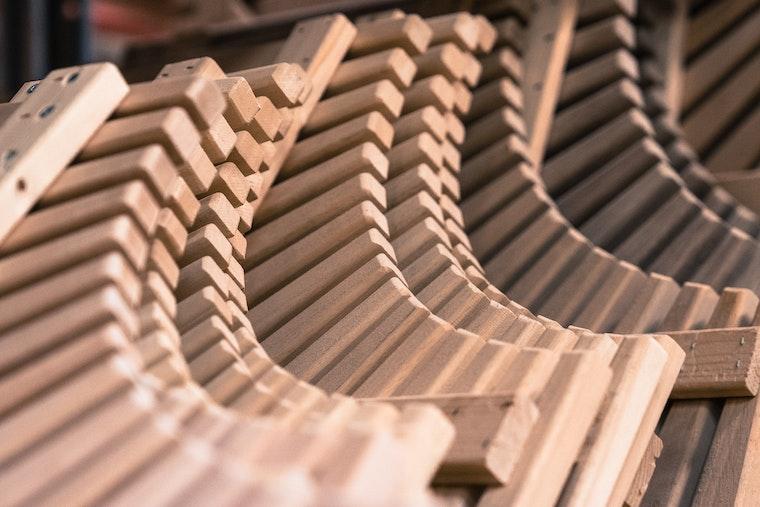 Harvia bench materials