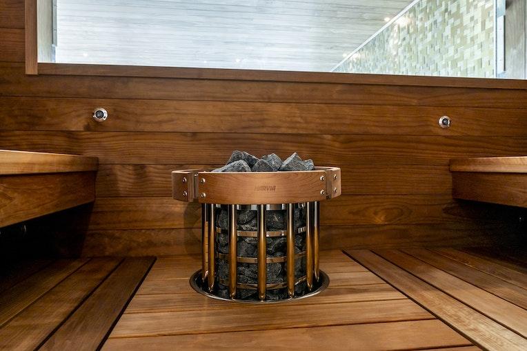 Harvia Scala bench model with Glow heater