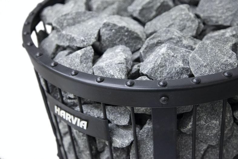 Harvia Legend heater detail