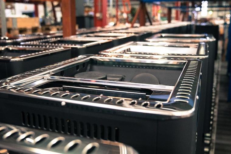 Harvia heater production