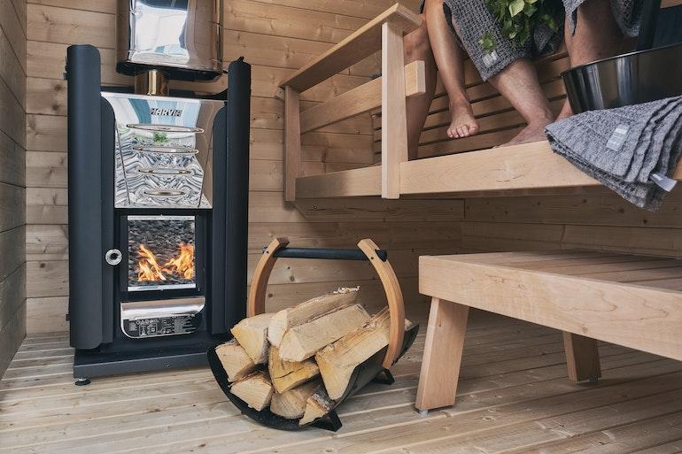 Harvia Pro 20 woodburning heater