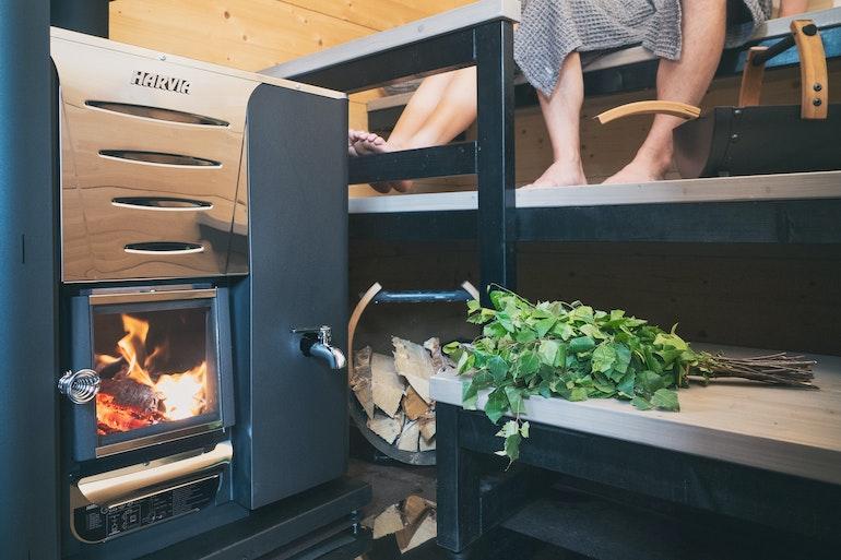 Harvia Pro 20 LS woodburning heater