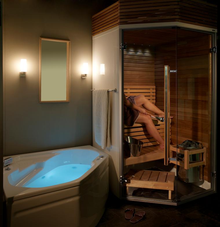 Harvia Sirius bathroom sauna