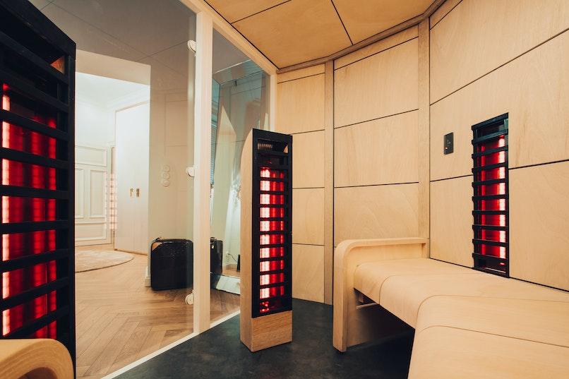 Harvia Ventura Infrared room, heating elements, panels