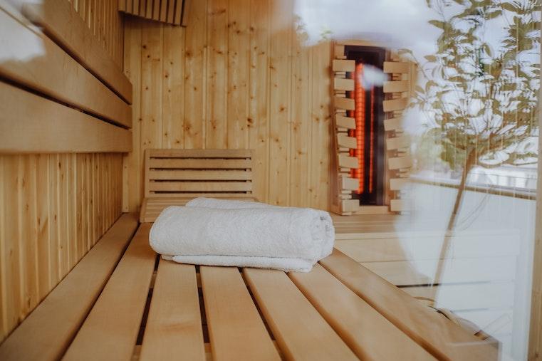 Harvia Infrared panels cabin, comfort back rest