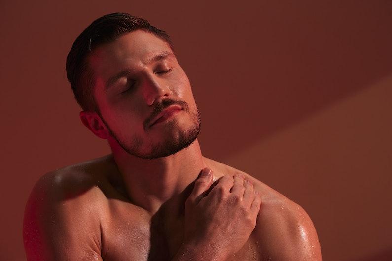 man enjoying infrared