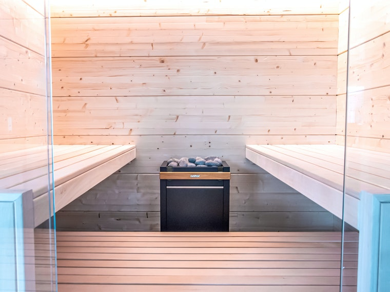 Harvia Olympus indoor sauna Virta electric heater