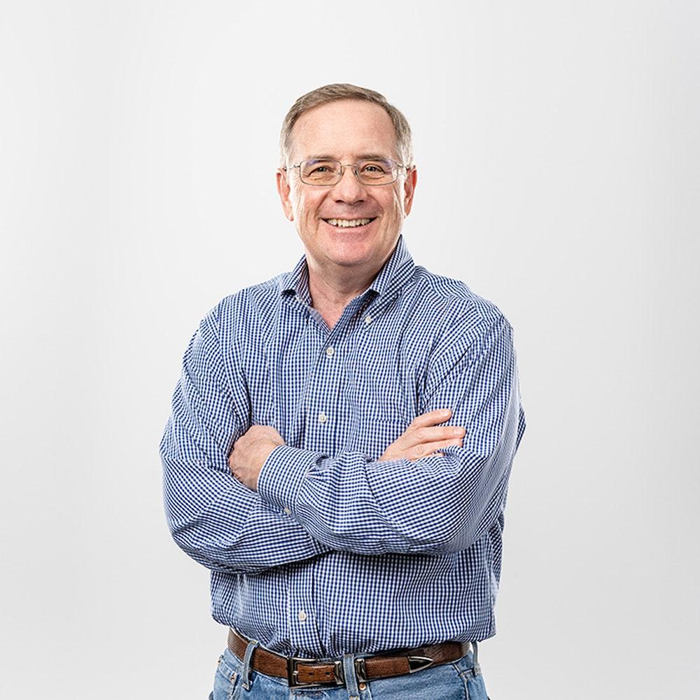 A photos of Chris Micklas, Chief Financial Officer at Nacero