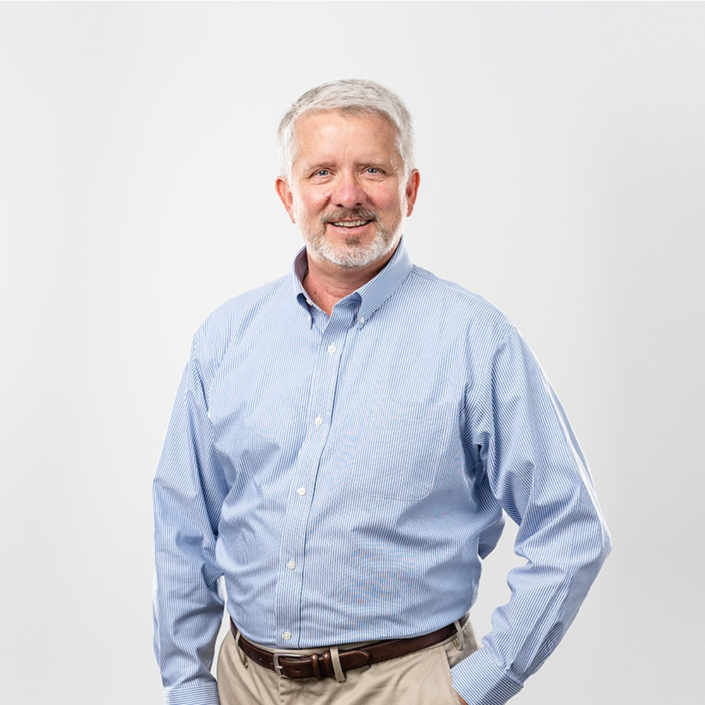 A photo of John Coffin, Director, Engineering at Nacero
