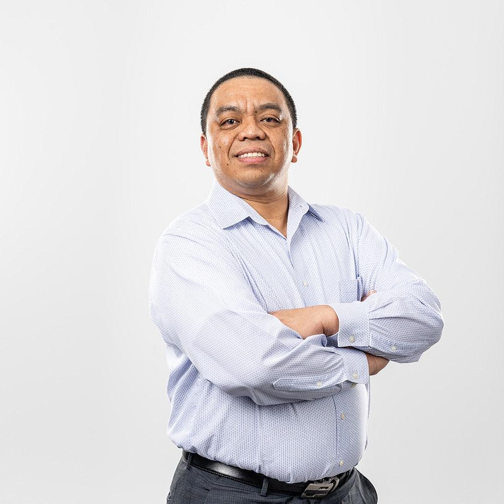 A photo of Michael Fruelda, Senior Engineer, Process Engineering at Nacero