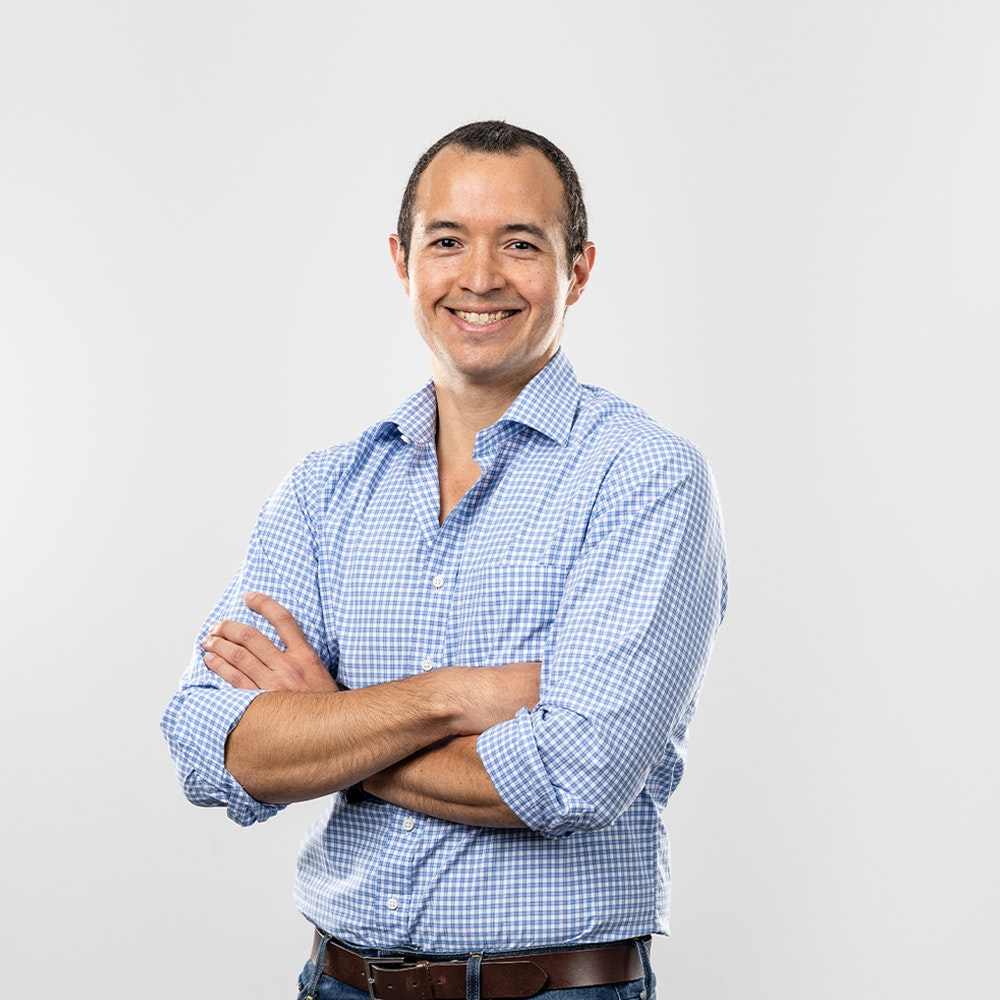 A photo of Luis Rios, Director, Project Finance at Nacero