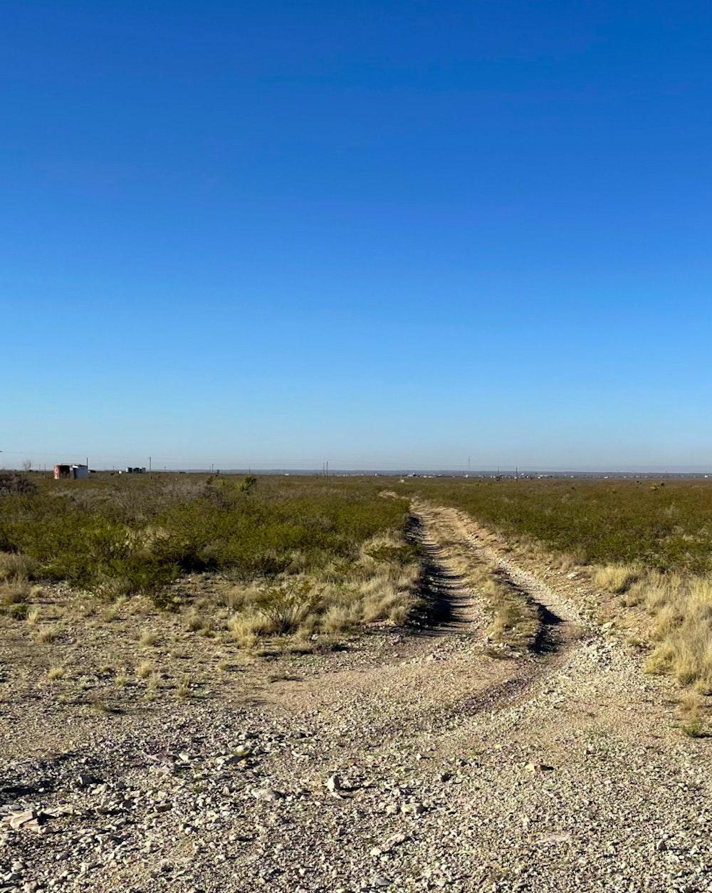 A photo of the location of the future Nacero Penwell Texas facility