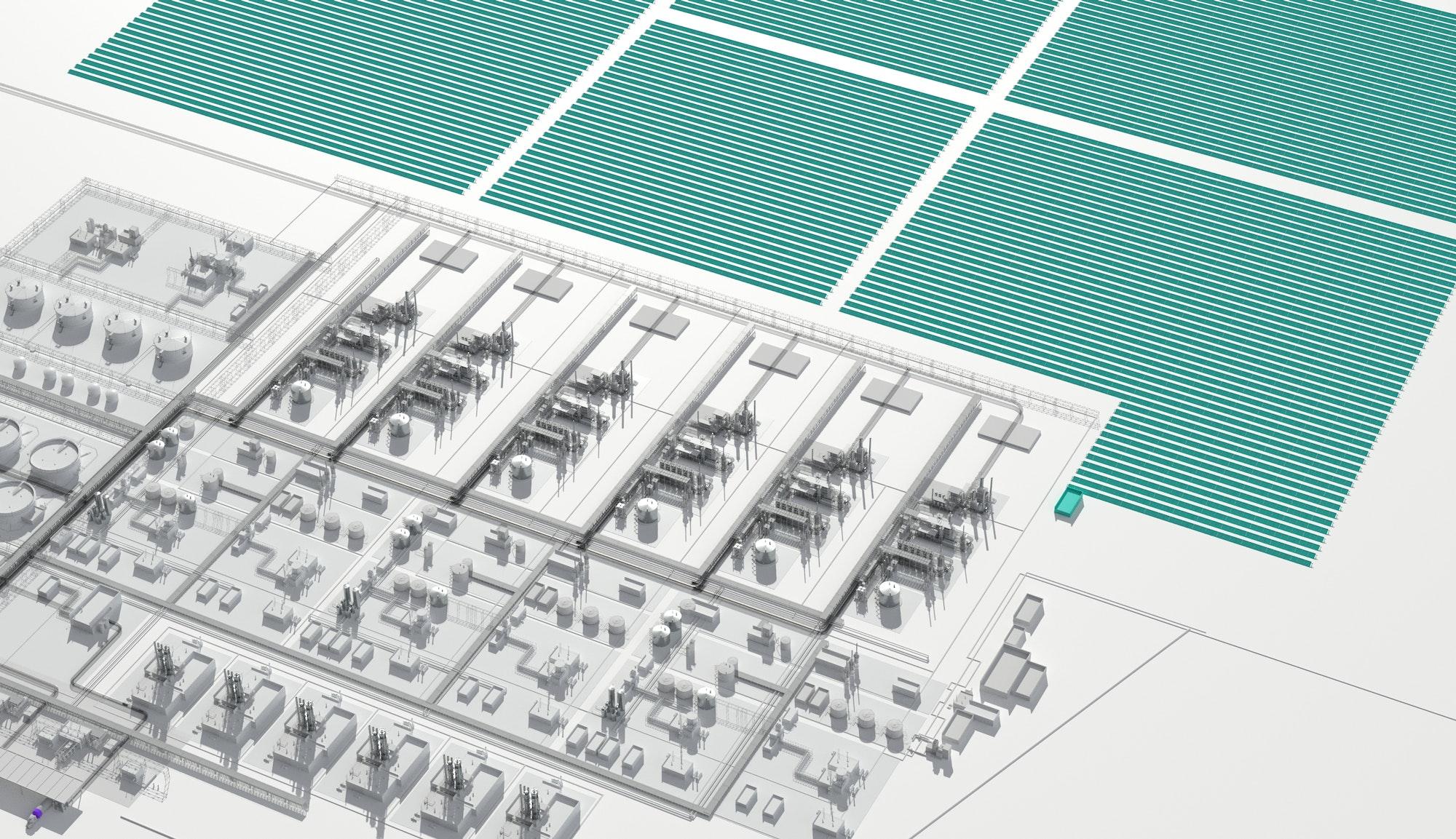 Integrated solar power generation