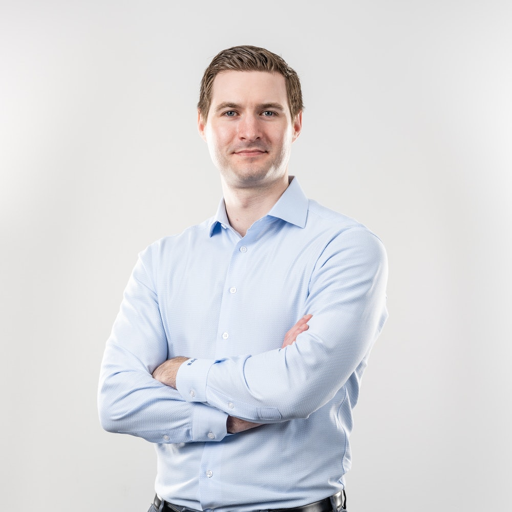 Picture of Alex Agrons, Director of Business Development