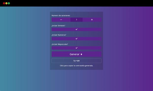 React Random Password Generator