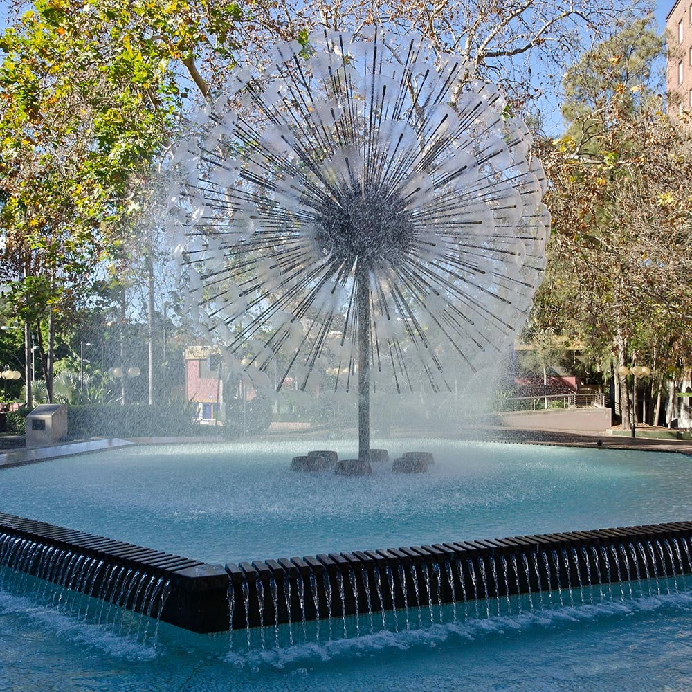 El Alamein Memorial Fountain