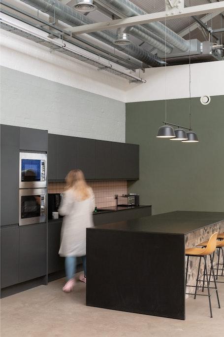 Kitchen Area Person