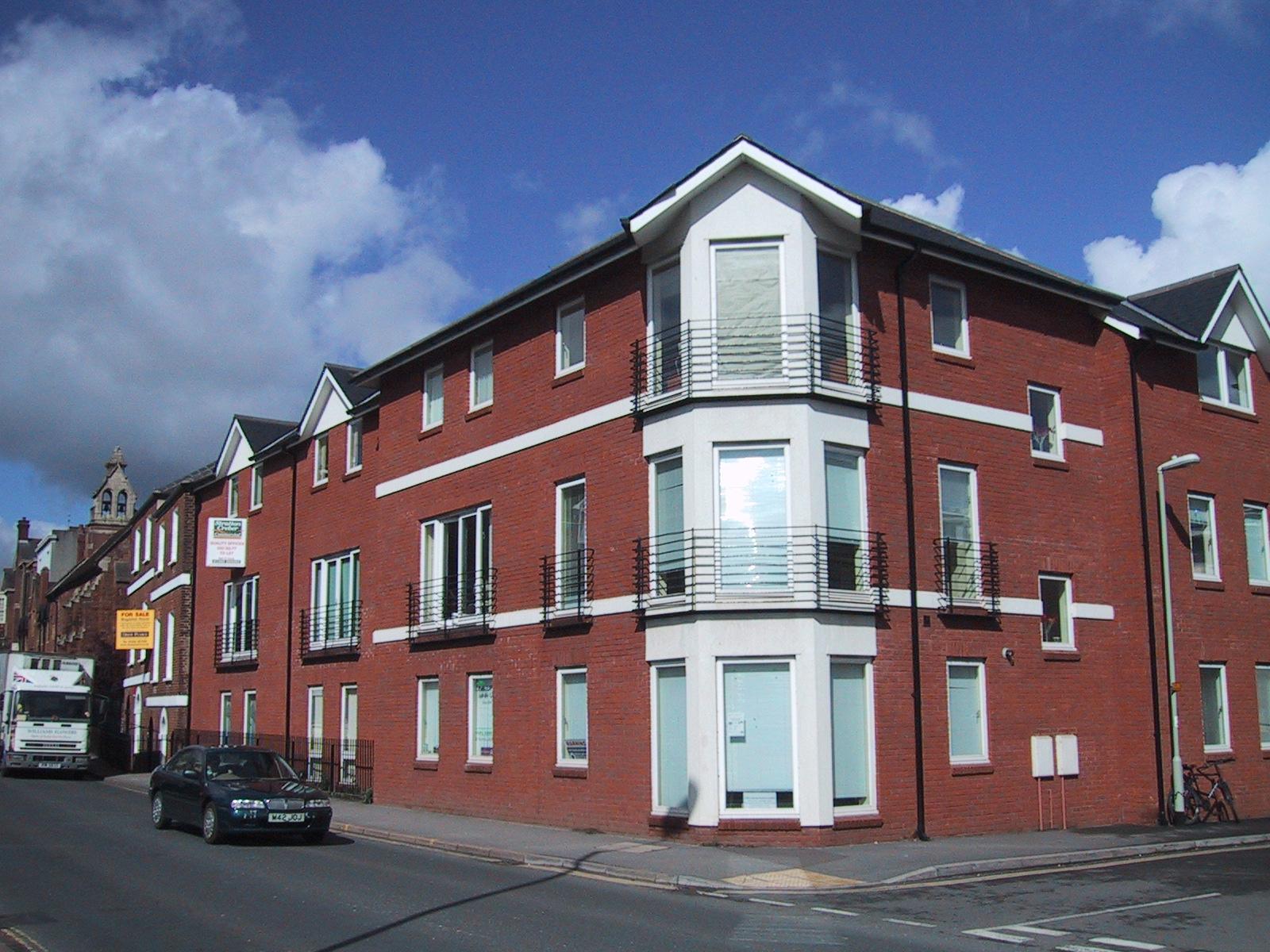 Charlotte Mews Office Development, Exeter