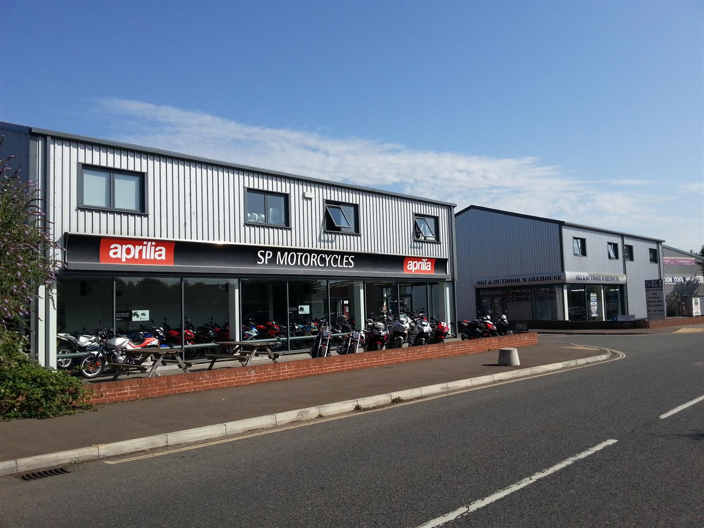 New Showroom for SP Motorcycles