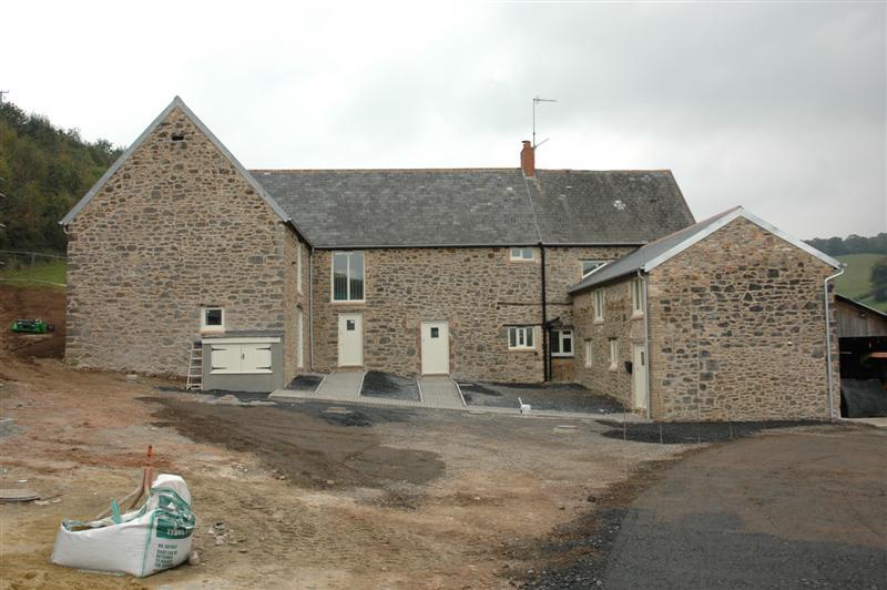 Lower Dunscombe Farm Barn Conversion