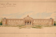 Walter Vernon's design for National Art Gallery