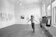 Rex Irwin in his Woollahra gallery