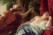 Jacques Blanchard, Mars and the vestal virgin 1638