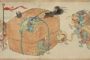 Hiroharu Itaya Night procession of one hundred goblins c1820 (detail)