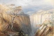 Conrad Martens, Apsley Falls 1874