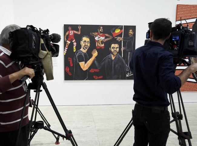 Archibald, Wynne and Sulman Prize opening