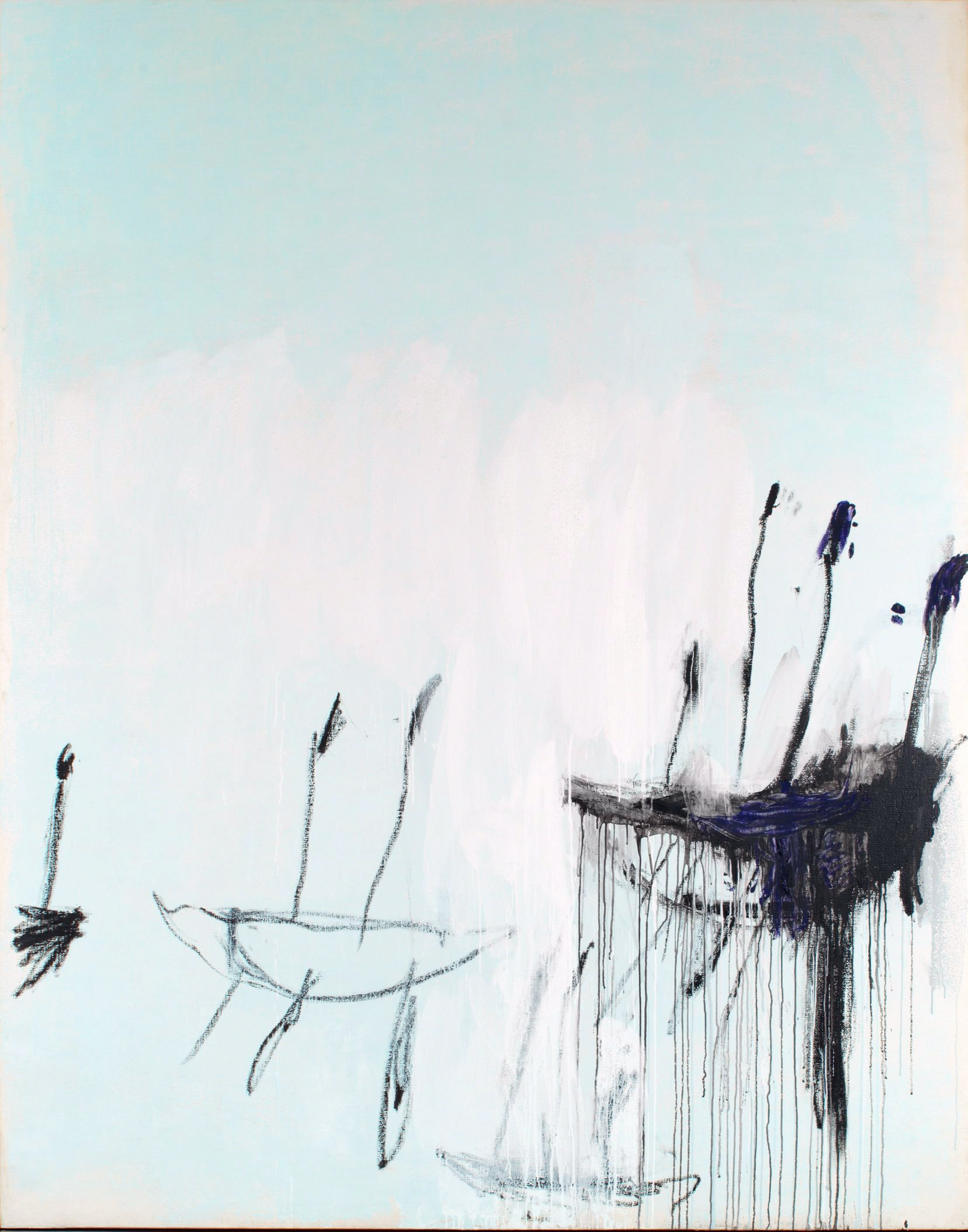 Cy Twombly, Three studies from the Temeraire (detail)  1998—1999