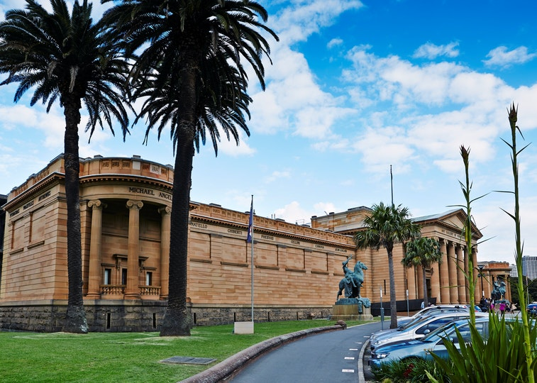 Exterior view of the Art Gallery of NSW