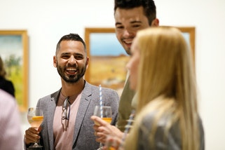 Young Professionals Meet Up event