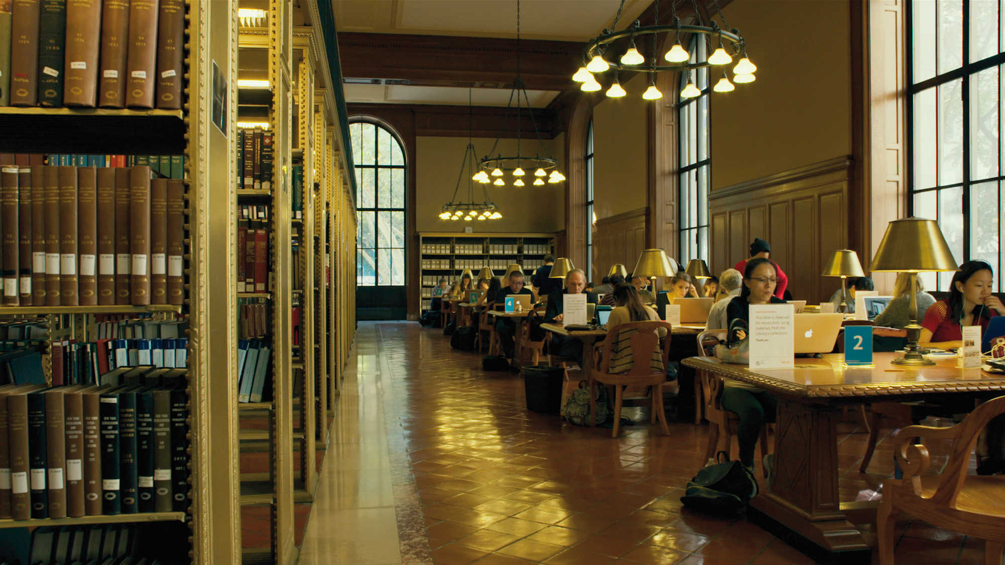 Still from Ex libris: The New York Public Library, 2017