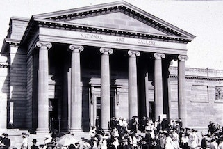Exterior of the Art Gallery of New South Wales (detail)