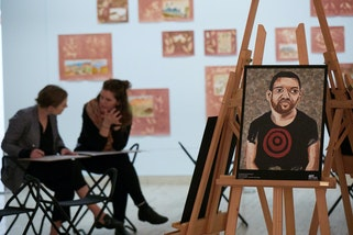 Drop in and draw: Portraiture
