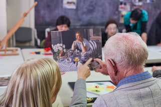 Art and dementia program at the Art Gallery of New South Wales