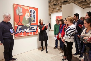 Auslan tour at the Art Gallery of NSW