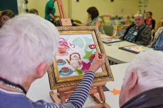 Art and dementia program at the Art Gallery of NSW
