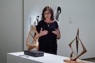 Margel Hinder Exhibition Floor talk