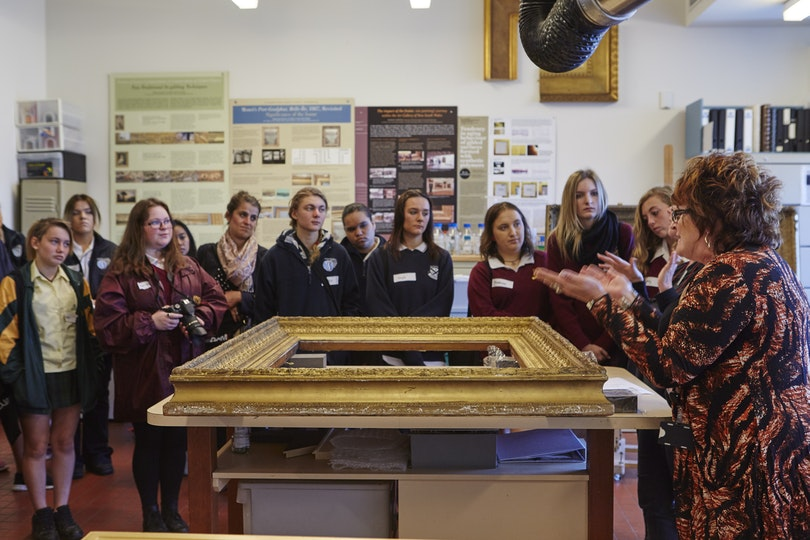 Art Gallery of NSW education program that integrates Aboriginal and Torres Strait Islander concepts, perspectives and cultural practices, and provides opportunities for Indigenous students to learn about the Gallery's collection as well as vocational pathways available in the arts.