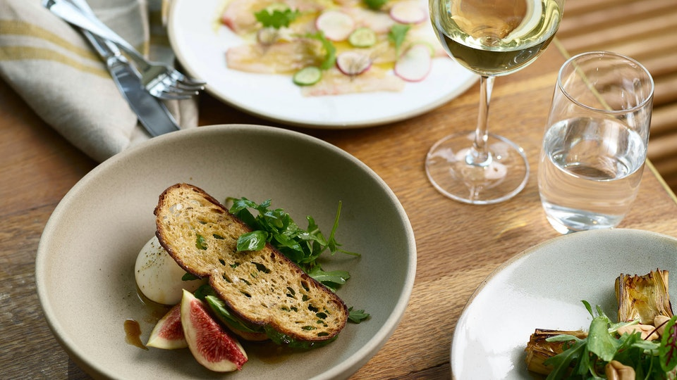 All-day dining at the Art Gallery Restaurant, Crafted by Matt Moran